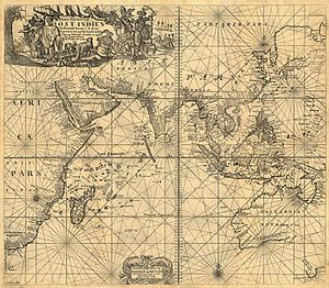 Johannes van Keulen - Johannes van Keulen, 1689 map of the East Indies.