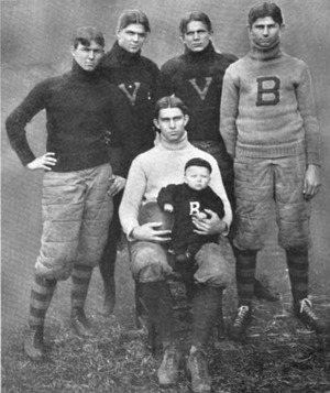 Bob Blake (American football) - The Blake brothers of Vanderbilt. Bob is second from left.