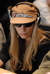 Vanessa Rousso of Big Brother 17, wearing sunglasses