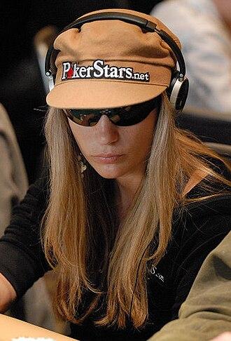 Vanessa Rousso - Vanessa Rousso in the World Poker Tour Championship event (2007).