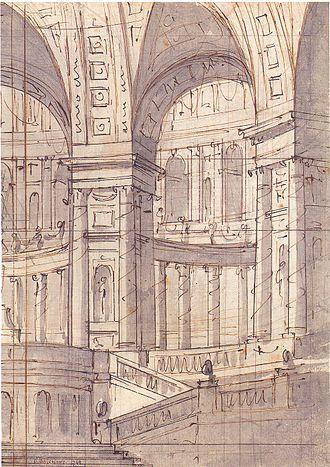 Vasily Bazhenov - 1764 artwork by Bazhenov