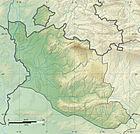 Vaucluse department relief location map.jpg
