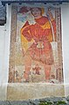 Velden Oberjeserz Filialkirche hl Michael S-Wand Wandbild hl. Christophorus 10012014 5928.jpg