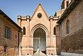 Verfeil (Haute-Garonne) - L'église Saint-Blaise - Portique d'entré.jpg