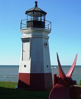 Vermilion Light lighthouse in Ohio, United States