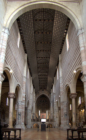Basilica of San Zeno, Verona - The nave