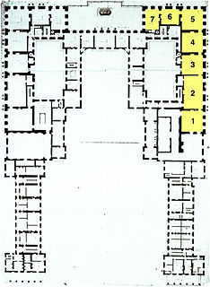 <i>Grand appartement du roi</i> Kings grand apartments in the Palace of Versailles