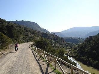 Guadalete - Vía Verde de la Sierra next to Guadalete