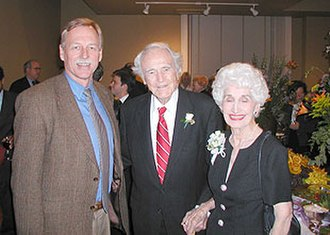 Sid McMath - McMath with his third wife, Betty Dortch Russell McMath, and former U.S. Rep. Vic Snyder.