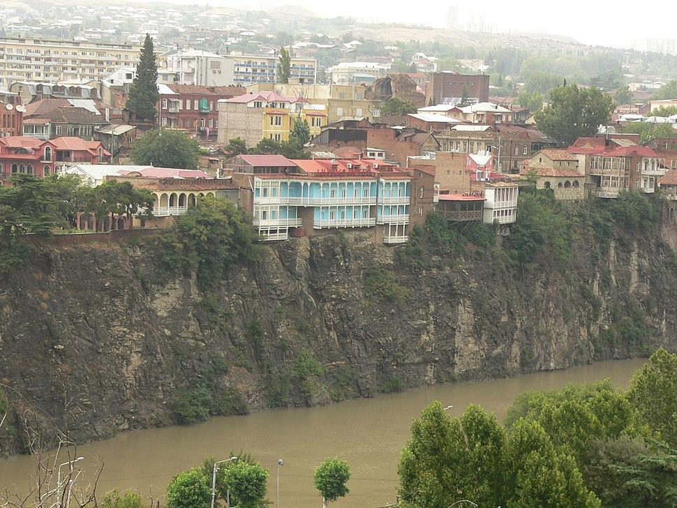 View from Narikala