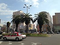 View in front of East Entrance of Sasebo Station 20141230-2.JPG