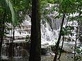 View of Waterfall through Trees at Puente Murcielagos - Palenque Archaeological Site - Chiapas - Mexico (15057008874).jpg