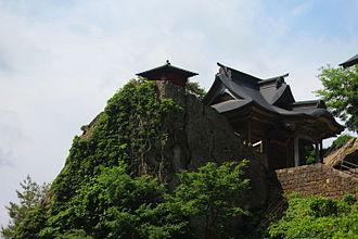 Yama-dera - The Risshaku-ji sutra repository and Founder's Hall