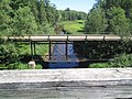 View of car bridge from old train bridge, Colchester County, NS (36314016096).jpg