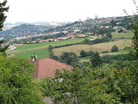 A general view of Villars