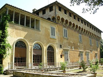 Villa Medici at Careggi - Villa Medici in Careggi facade