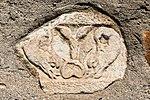 Villach Gratschach Filialkirche hll Philippus und Jakobus Delphinrelief 14042017 7535.jpg