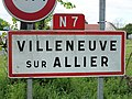 Villeneuve-sur-Allier-FR-03-panneau d'agglomération-02.jpg
