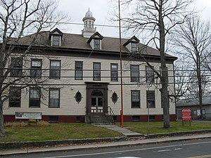 North Uxbridge School - Image: Virginia Blanchard Center Uxbridge MA 103