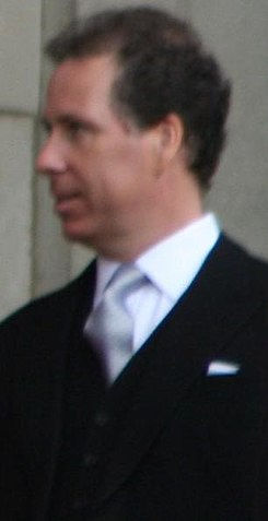 Viscount Linley Trooping the Colour Saturday June 16th 2007.jpg