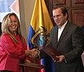 Visita a Ecuador de la Ministra de Asuntos Exteriores y de Cooperación del Reino de España, Trinidad Jiménez (5165134842).jpg