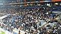 Vista de parte del estadio Hidalgo con afición mostrando aclamación por su equipo.JPG