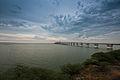 Vista hacia el puente sobre el lago de Maracaibo.jpg