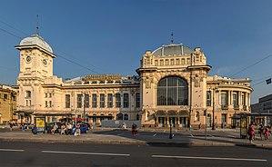 Vitebsky railway station - Vitebsk Railway Station in July 2014