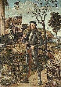 Vittore Carpaccio - Giovane cavaliere in un paesaggio.jpg
