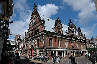 1600s in architecture - Vleeshal, Haarlem