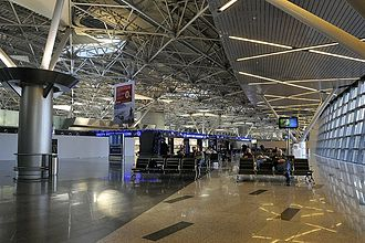 Vnukovo International Airport - Departure gate area