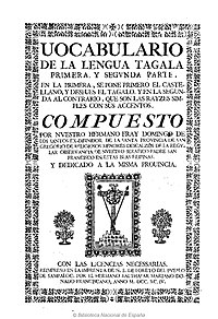 Tagalog language - Wikipedia
