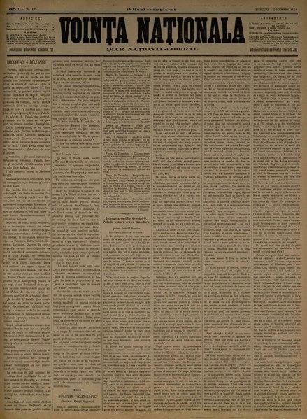 File:Voința naționala 1884-12-05, nr. 0120.pdf
