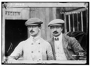 Gabriel Voisin - Gabriel (left) and Charles Voisin in 1906