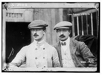 Gabriel Voisin - Gabriel (left) and Charles Voisin in 1906