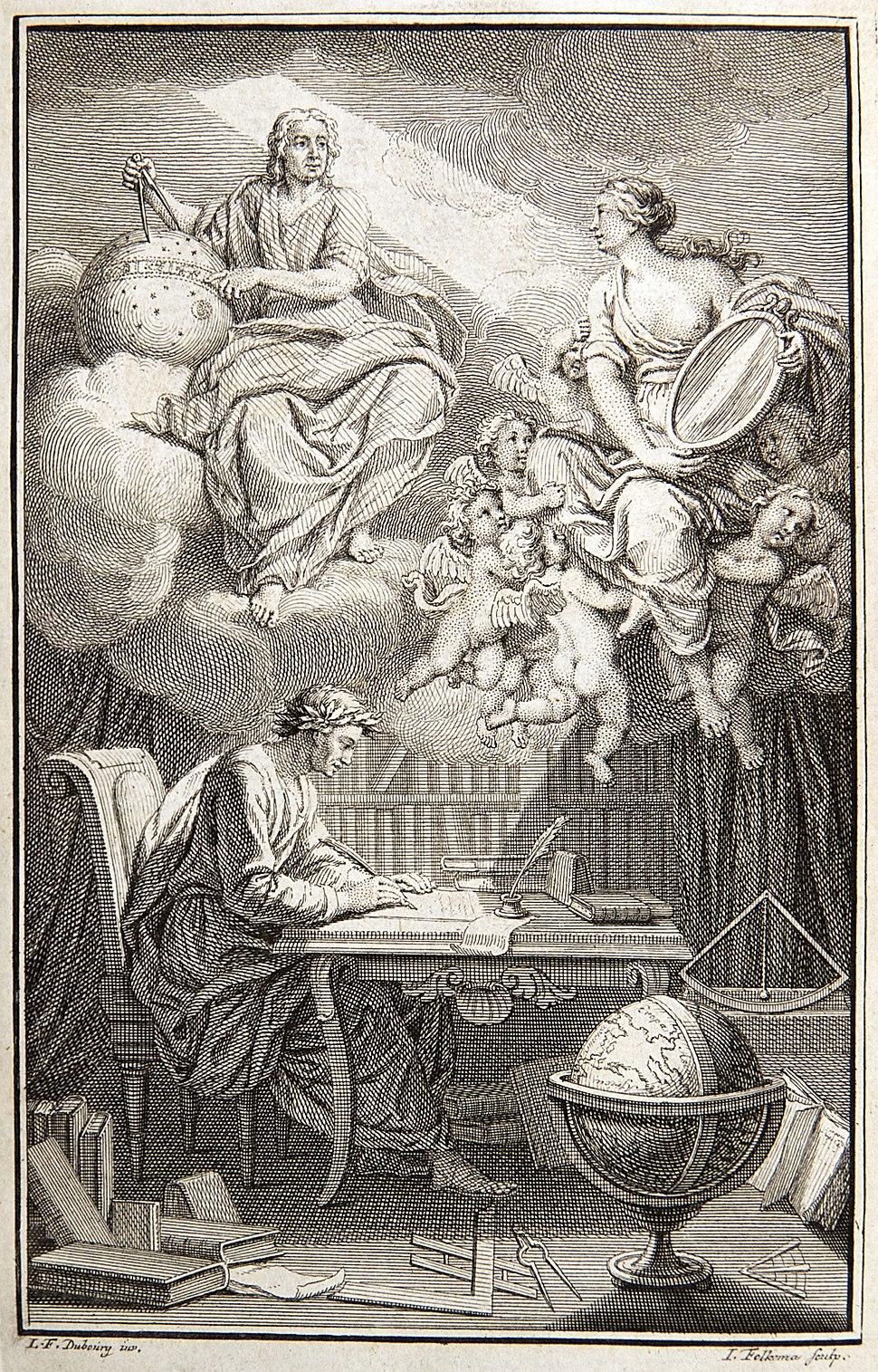 Voltaire Philosophy of Newton frontispiece