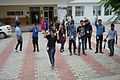Volunteers Waving Goodbye - Wiki Conference India - CGC - Mohali 2016-08-07 8877.JPG
