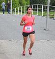 Vrouw met zwart haar die sport Ladiesrun 2015.jpg
