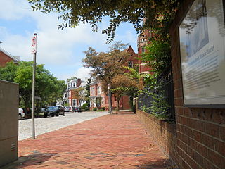 West Freemason Street Area Historic District human settlement in Norfolk, Virginia, United States of America