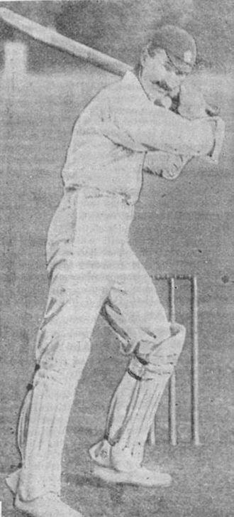William Bruce (cricketer) - Image: W Bruce Batting 1895