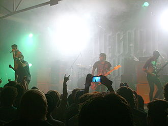 We Came as Romans - We Came as Romans performing at the Never Say Die! Tour in Cologne, Germany in 2012.