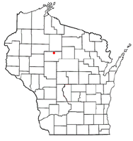 Location of Westboro, Wisconsin