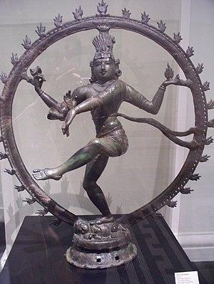 Ashtami - Three-eyed, Trilochana (त्रिलोचन) Nataraj Image of Lord Shiva