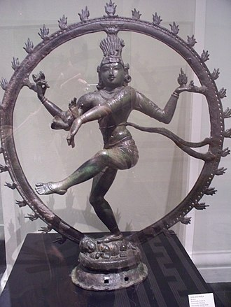 Ashtami - Three-eyed, Trilochana (त्रिलोचन) Nataraj Image of Lord Shiva