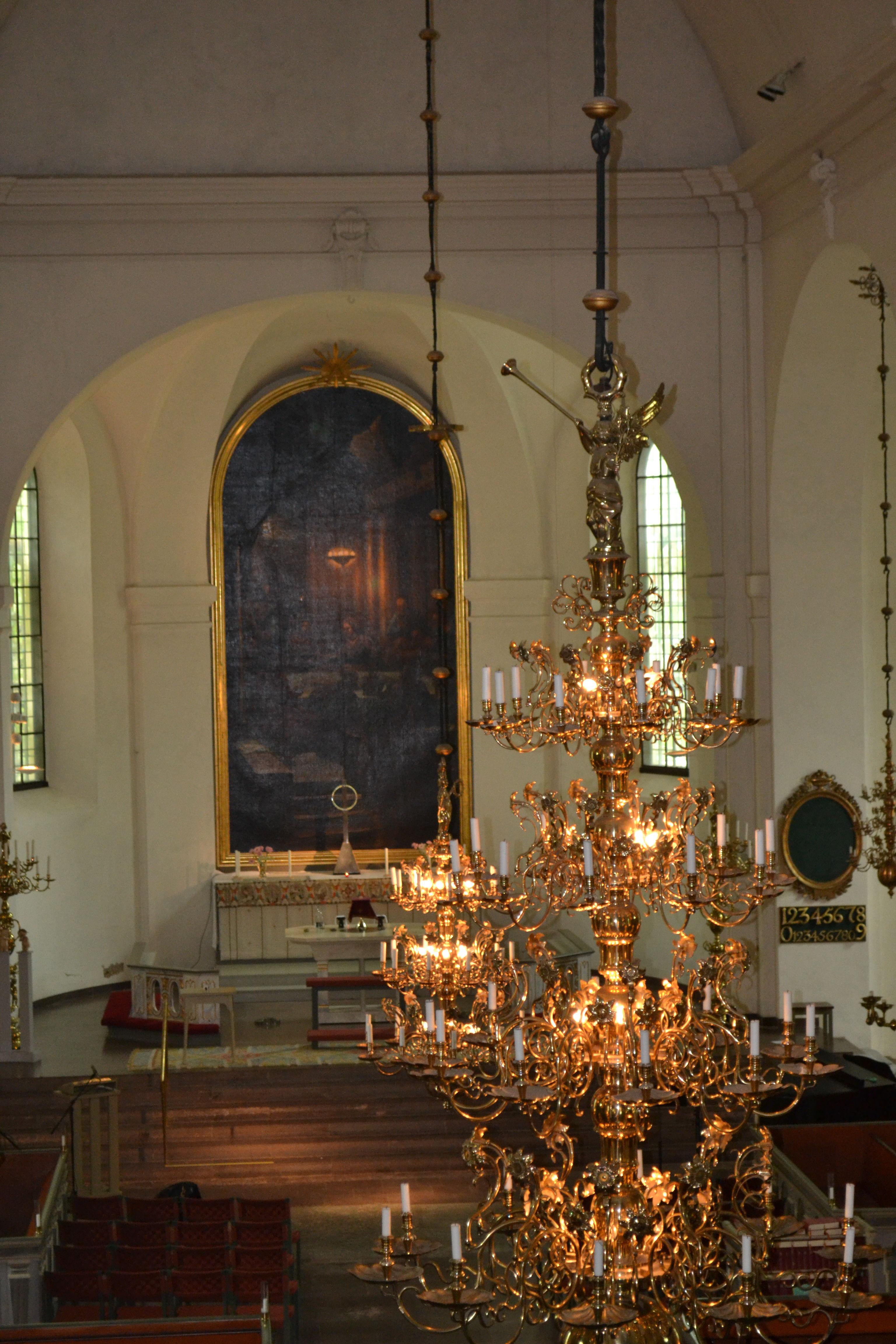 Fil:Sankt Olai kyrka i Norrkping, reproduktion av Gustav IV-s