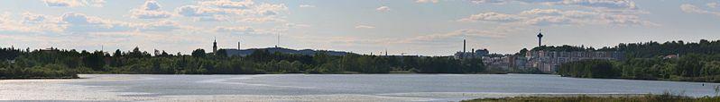 File:WV banner Pirkanmaa Lake Iidesjärvi Tampere.jpg