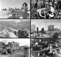 Montage of World War II