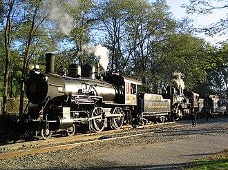 Louisiana Eastern Railroad - Image: WW Double Header 1