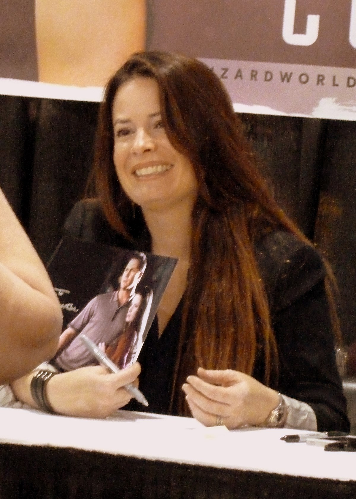 Holly Marie Combs Hells Kitchen Date