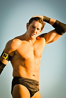 Wade Barrett na Tribute to the Troops 2010.